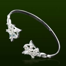 Elegant Women 925 Sterling Silver Zircon LOTR Elf Princess Arwen Star Bracelet