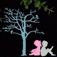 Stencils DIY Cutting Dies Scrapbooking Tagebuch Stanzschablone Decor Baum Kinder