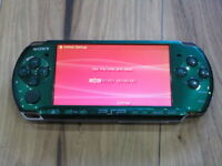 Sony PSP 3000 console Spirited Green Japan B397