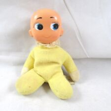 "Ronald Trading Co. Ltd Big Eye Baby Doll Vintage 6"" Hong Kong"