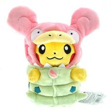 """Cute Pokemon MEGA Slowpoke Pikachu 8"""" Stuffed Animal Plush Soft Toy Doll Gift"""