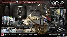 ASSASSINS CREED IV BLACK FLAG BLACK CHEST COLLECTORS EDITION PS3: NO WORLD MAP !