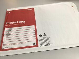 100 x Padded Bag (PB4) - 266 x 381mm Bubble Padded Bag Mailer Envelope Free Post