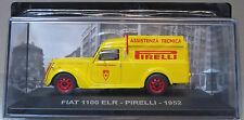FIAT 1100 ELR PIRELLI 1952 - SCALA 1:43 - VEICOLI PUBBLICITARI D'EPOCA