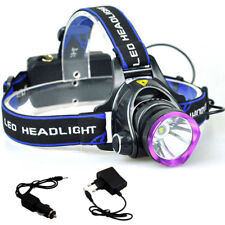 Q5 LED Headlight Headlamp Flashlight  1600lm Outdoor Camping with AC charger