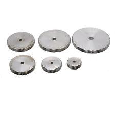 1 Mod Spur Gear 10T-150T Teeth Transmission Gear 10mm thickness 45# Steel Gear