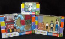 Set 3 Kaleidoscope Doll House Furniture Art Collection #2 Kids Dog Bathroom Set