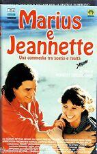 Marius e Jeannette (1997) VHS Medusa Video 1a Ed. Guediguian  Premio César