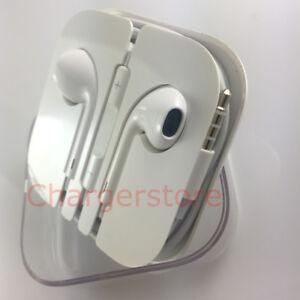 Original Apple Earpods with 3.5mm headphone Plug/mic for iPhone 6S 6 Plus 5S SE