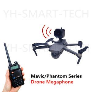 DJI Mavic Pro 2 and Phantom 3 4 Series Drone Wireless Megaphone Speaker