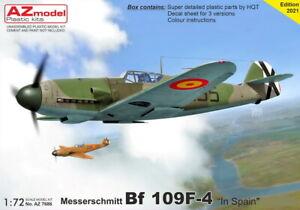 AZ Models 1/72 Kit 7686 Messerschmitt Bf 109F-4 'In Spanish Services'