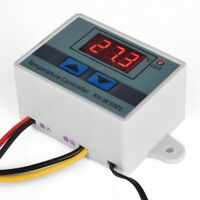 Digital LED Temperature Controller 10A Thermostat Refrigeration Heating Control