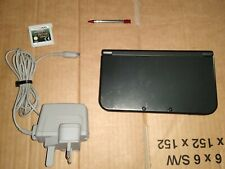 "THE ""NEW"" NINTENDO 3DS XL BUNDLE ! CONSOLE GAME CHARGER ! PAL/UK/EURO ! TESTED !"