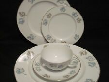 1959 Mid-Century Franciscan Trianon 5Pc Setting for 5 (Dinner/Salad/BB/C&S)