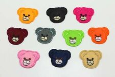 10pcs Lovely bear Embroidery Iron Sew On Patches Motif Appliqué Kids Gifts NEW