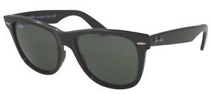 Ray-Ban Damen Herren Sonnenbrille RB2140 901 50mm Wayfarer schwarz RB9