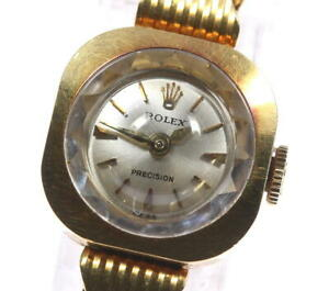 ROLEX Precision Cal.1400 Silver Dial Hand Winding Ladies Watch_623628