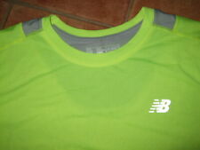 NEW BALANCE RUNNING TOP, HI VIZ,SIZE XL,NEW IN WITH TAGS,FREE UK POST