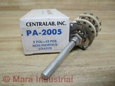 Centralab PA2005 Rotary Switch