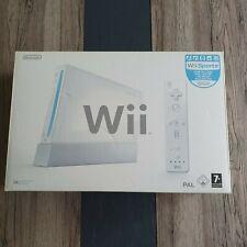 Nintendo Wii  Spielekonsole Weiß (PAL) OVP