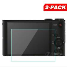 2x Tempered Glass Screen Protector for Sony Cyber-shot DSC WX350 WX300 Camera