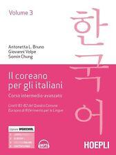 Il coreano per italiani. Vol. 3 - [Hoepli Universitaria]