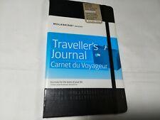 "Moleskine Passion Travel Journal, Hard Cover, Large (5"" x 8.25"") Black"