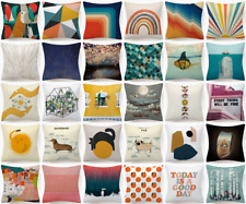 """Cushion Cover Abstract Decorative Double-Sided Sofa Bed Throw Pillow Case 18x18"""""""