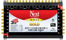 Next YE 17/16 Gold End Multischalter Multiswitch Full HD 4K 3D