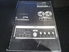 SERVICE MANUAL FOR PREAMP TUNER STUDER REVOX B780. ENG / FR / GER