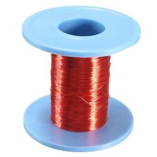 1pc 100m Red Magnet Wire 0.2mm Enameled Copper Lead Round Magnetic Coil Winding