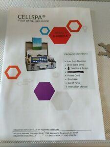#1 TOP USA BRAND Cell Spa® DETOX MACHINE CELL ION IONIC FOOT BATH SPA CHI FIR
