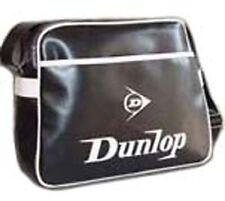 Dunlop Negro Vuelo escolar para el Hombro Mensajero Bolsa Manbag estudiante de la Universidad