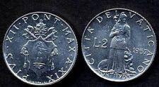 VATICANO PIO XII  2 Lire 1957  FDC ( UNC )