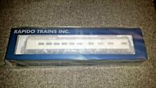 Rapido Model Trains HO Scale Lightweight Dining Car Undecorated 41-N-11 trucks