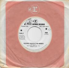 FAMILY  Second Generation Woman / Hometown  rare promo 45 from 1969