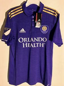 ADIDAS MLS JERSEY ORLANDO CITY SC TEAM PURPLE MEN'S SIZE M