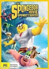 The SPONGEBOB [SQUAREPANTS] Movie - Sponge Out Of Water DVD BRAND NEW RELEASE R4