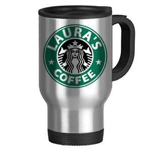 Starbucks Inspired Personalised Mug SILVER