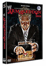 WWE Armageddon 2008 Dvd Brand New & Factory Sealed