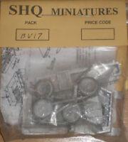 SHQ 20mm (1/72) British Morris C8 Cut Down Truck