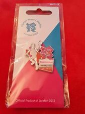 Olympics London 2012 Venue Sports Logo Pose Pin - Badminton