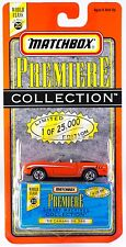 Matchbox World Class Series 20 Premiere Collection '69 Camaro SS 396 New