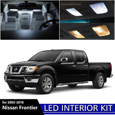 5PCS White Interior LED Light Package Kit for 2005 - 2016 Nissan Frontier
