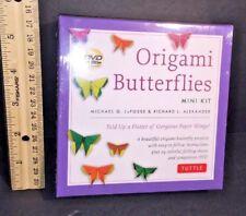 ORIGAMI BUTTERFLIES Mini Kit w DVD Michael G. LaFosse & Richard L. Alexander NEW