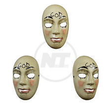 TRICK OR TREAT STUDIOS THE PURGE: ANARCHY GOD MASK IN STOCK