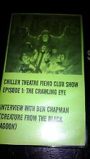 MISFITS Chiller Theater Fiend Club Show VHS The Crawling Eye Horror punk RARE