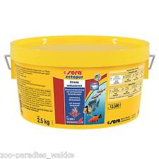 2,5 kg sera ectopur =  Erleichterung bei Krankheit und Stress für 12.500 Liter