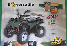 ADLY  ATV UTILITY 150 300 DEPLIANT  BROCHURE PUBBLICITÀ  RECLAME PROSPEKT