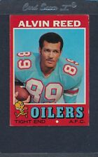 1971 Topps #169 Alvin Reed Oilers EX *506